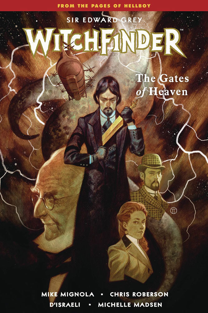 Image: Witchfinder Vol. 05: The Gates of Heaven SC  - Dark Horse Comics