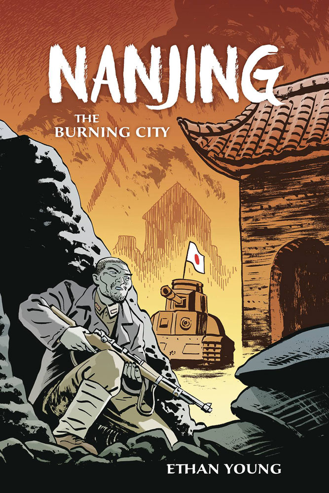 Image: Nanjing: The Burning City SC  - Dark Horse Comics