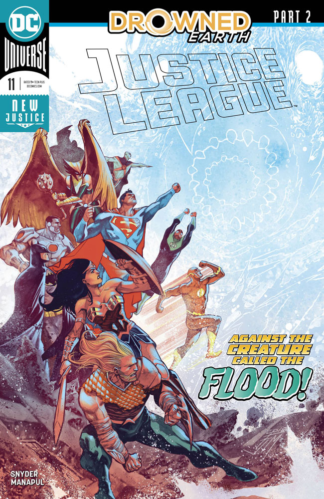 Image: Justice League #11 (Drowned Earth)  [2018] - DC Comics