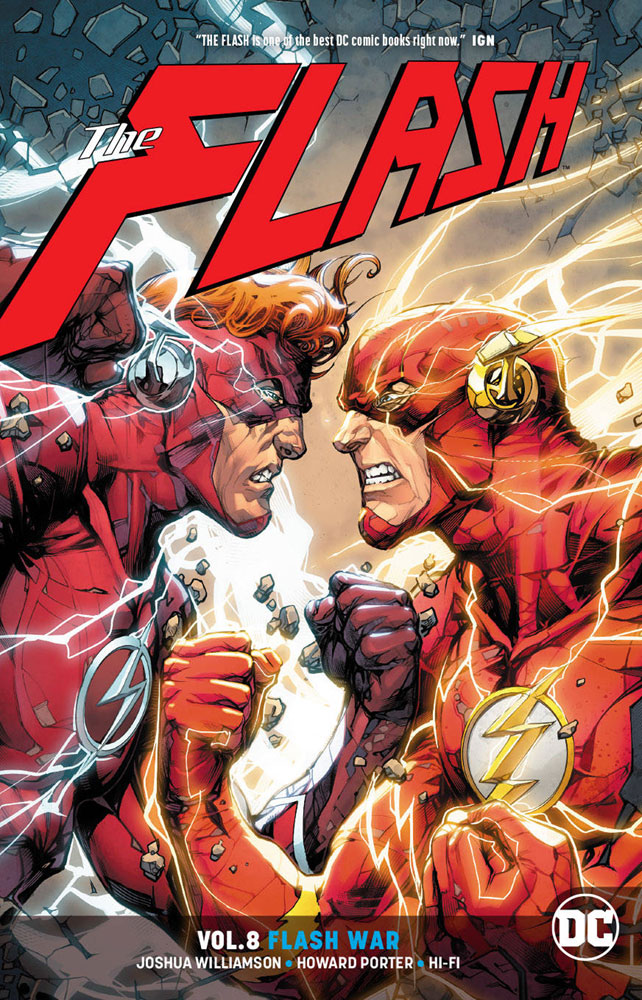Image: Flash Vol. 08: Flash War SC  - DC Comics