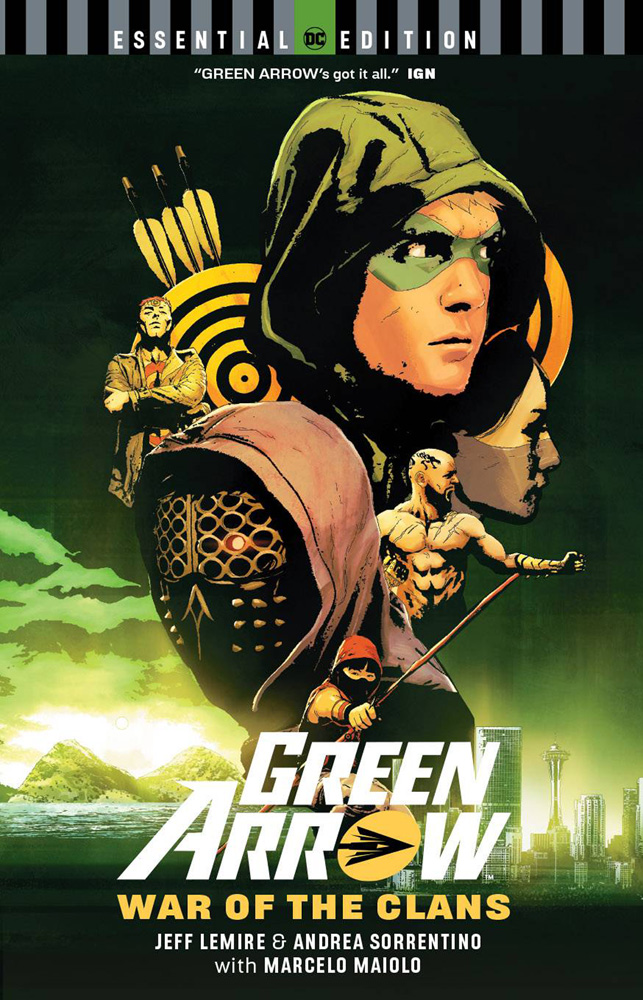 Green Arrow War Of The Clans: DC Essential Edition TPB