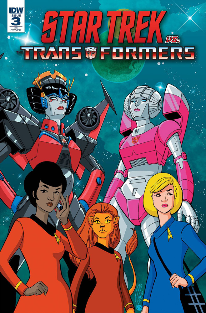 Image: Star Trek vs. Transformers #3 (incentive cover - Levens) (10-copy)  [2018] - IDW Publishing