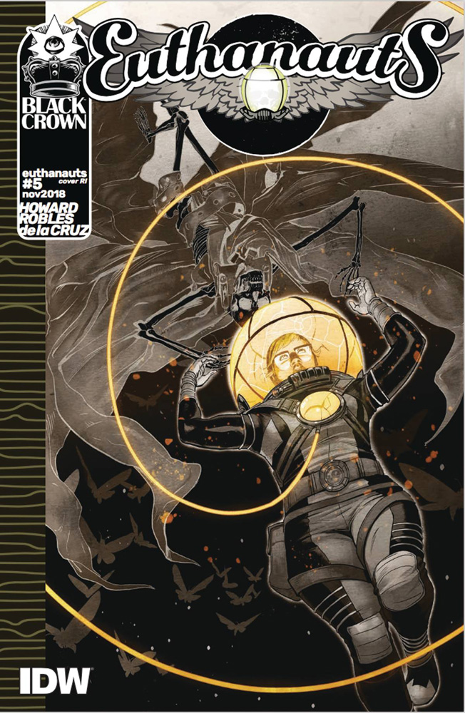 Image: Euthanauts #5 (incentive cover - Robles) (10-copy)  [2018] - IDW Publishing