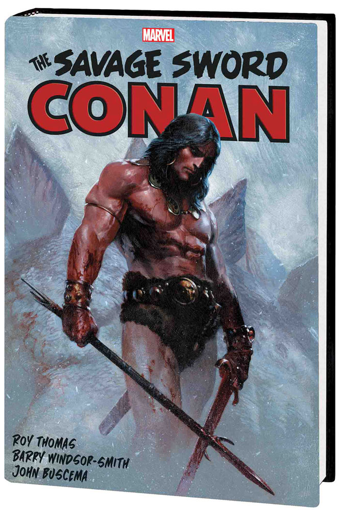Image: Savage Sword of Conan: The Original Marvel Years Omnibus Vol. 01 HC  (Dell'Otto cover) - Marvel Comics