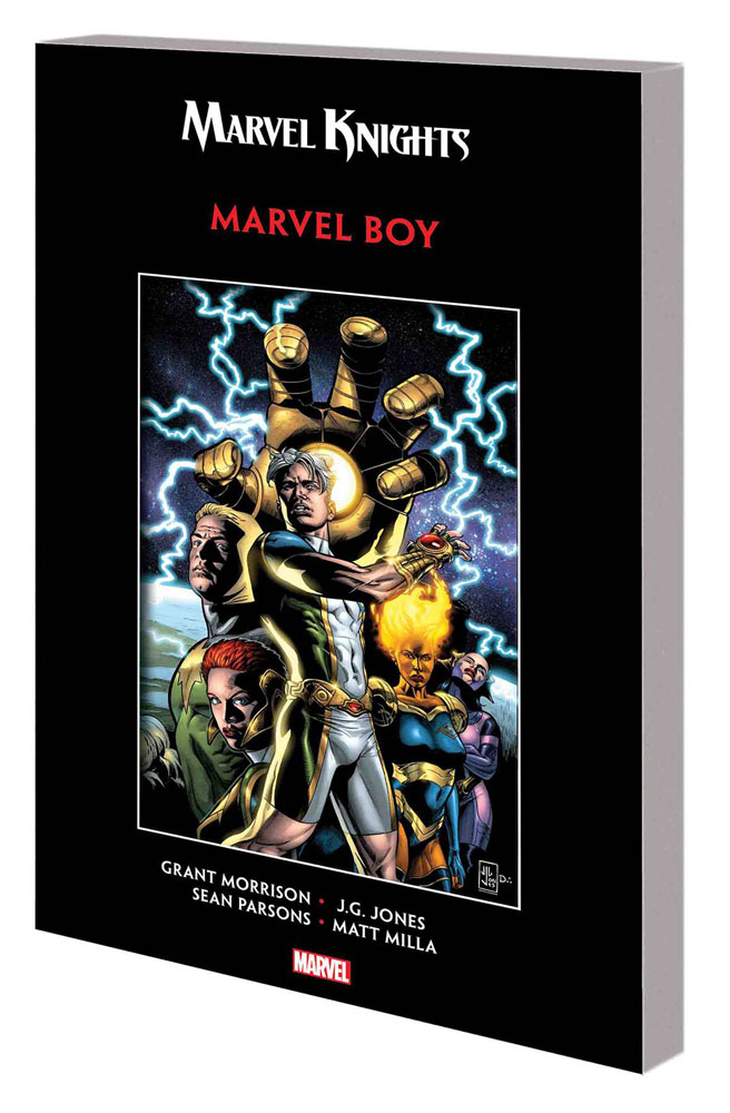 Image: Marvel Knights Marvel Boy by Morrison & Jones SC  - Marvel Comics