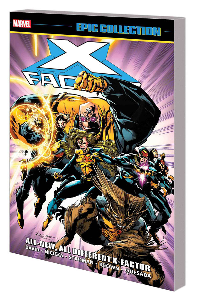 Image: X-Factor Epic Collection: All-New, All-Different X-Factor SC  - Marvel Comics