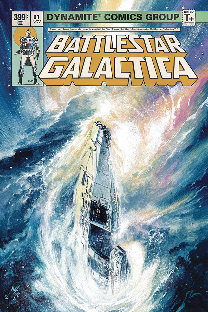 Battlestar Galactica Classic #1 Marco Rudy cover