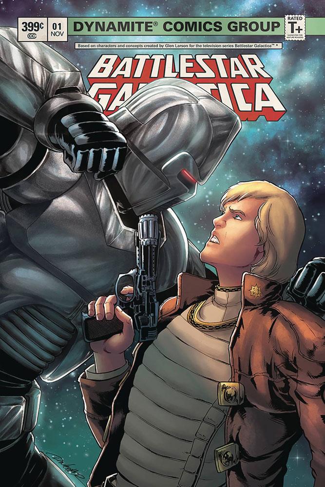 Battlestar Galactica Classic #1 Daniel HDR cover