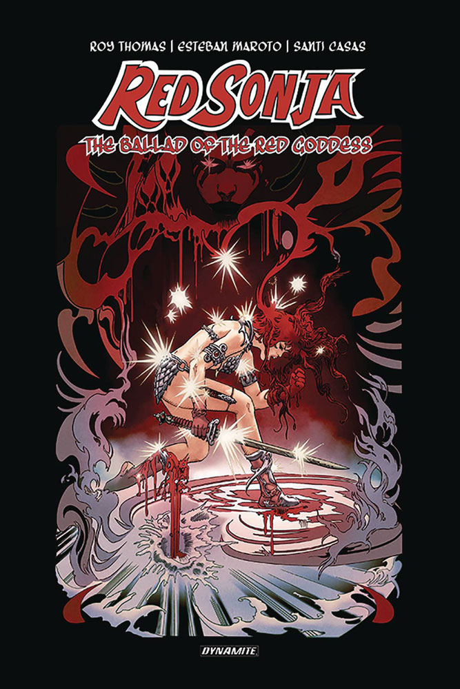 Image: Red Sonja: Ballad of the Red Goddess HC  (signed - Thomas) - Dynamite
