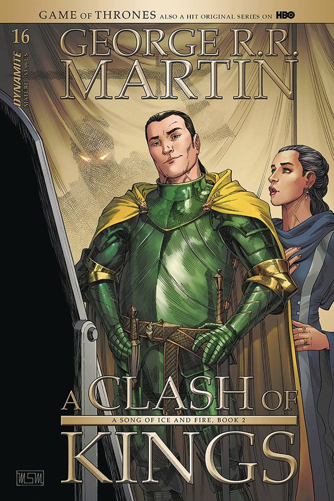 Image: George R. R. Martin's A Clash of Kings #16 (cover A- Miller) - Dynamite