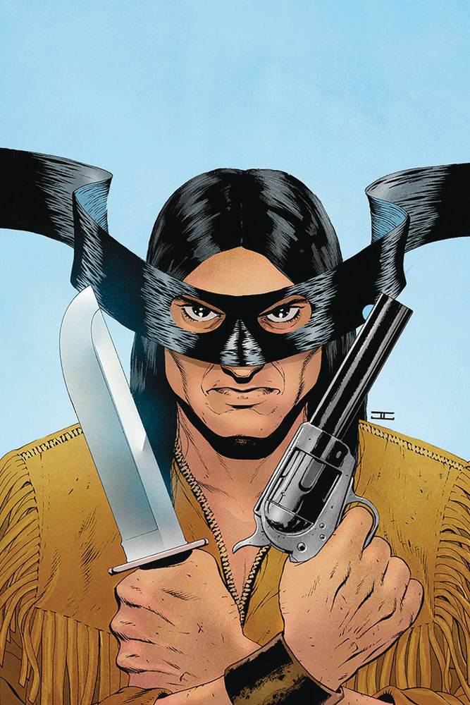 Image: Lone Ranger #2 (incentive cover - Cassaday virgin) (20-copy)  [2018] - Dynamite