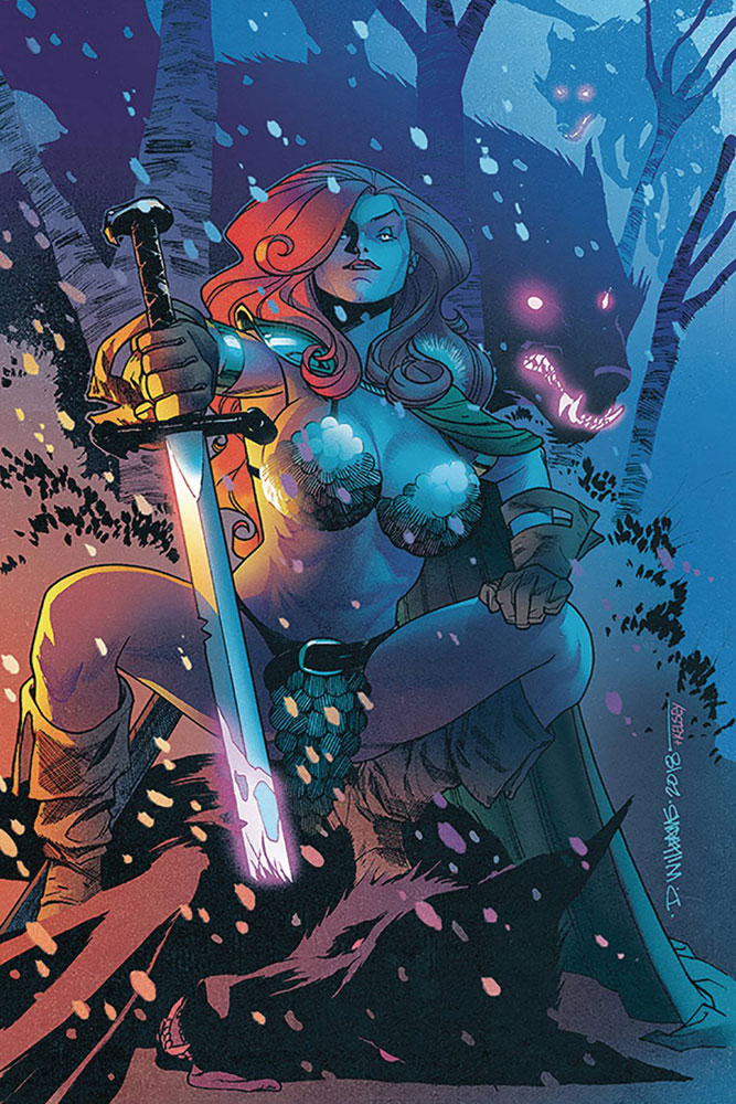 Image: Red Sonja Vol. 04 #23 (incentive cover - Williams virgin art) (10-copy)  [2018] - Dynamite