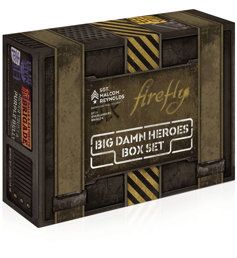 Firefly: Big Damn Heroes Box Set