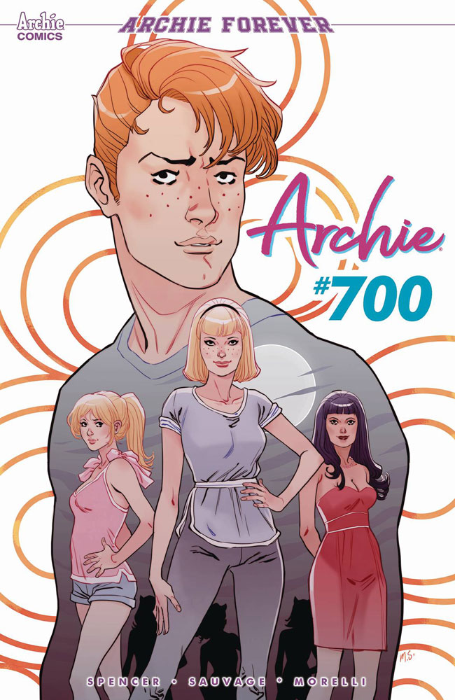 Archie #700 Marguerite Sauvage cover