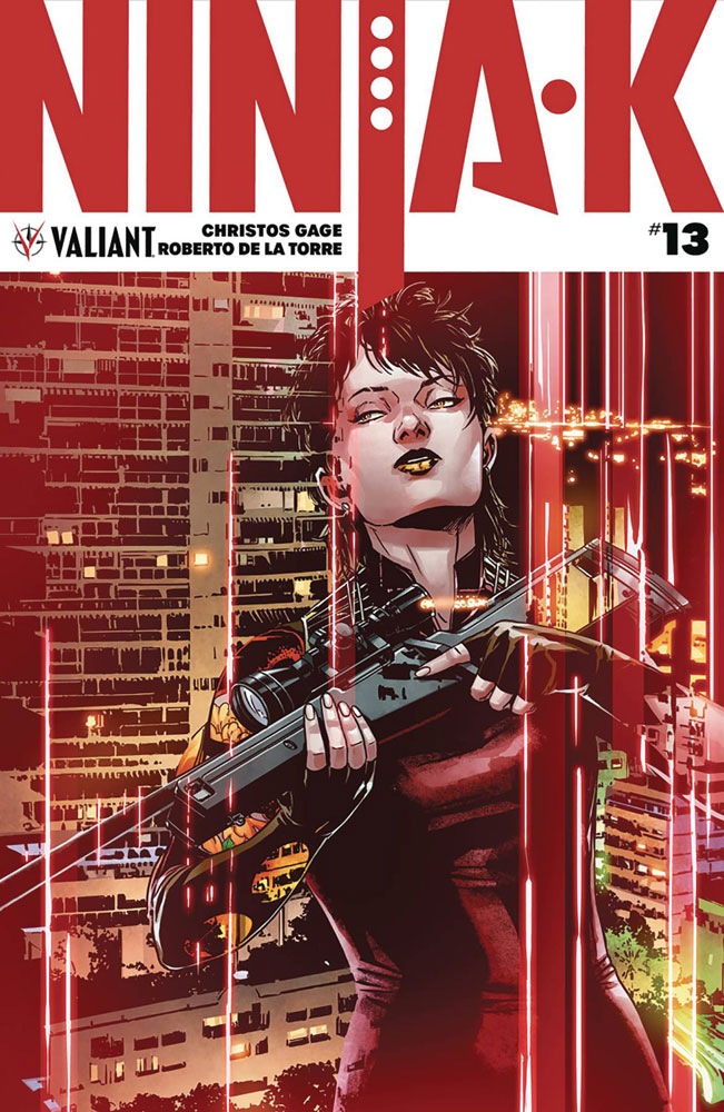 Image: Ninja-K #13 (cover C incentive - Programme Laming) (20-copy)  [2018] - Valiant Entertainment LLC