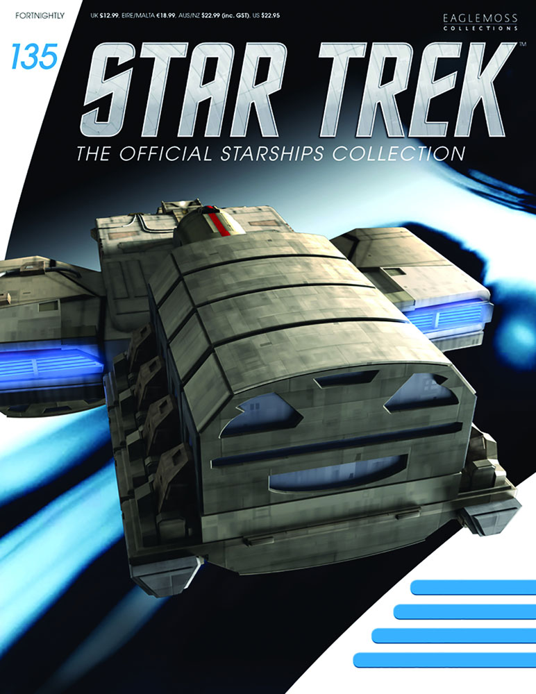 Star Trek Official Starships Collection: Dala Ship #135 - Eaglemoss Publications Ltd