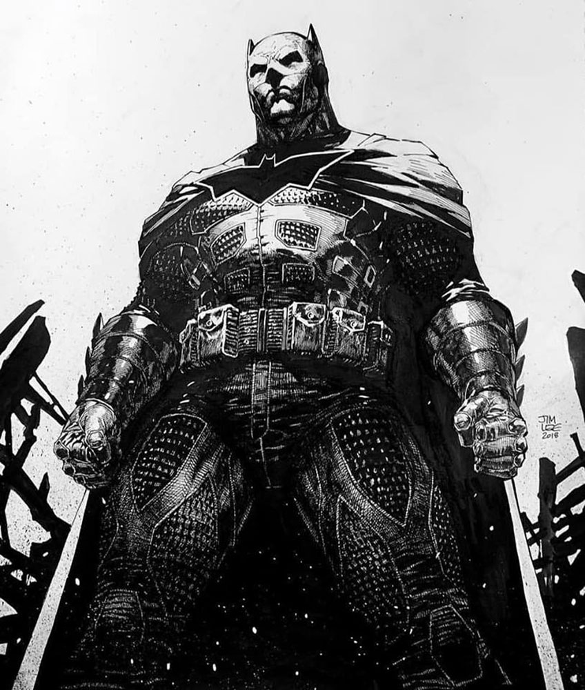 Batman: Damned #2 (variant cover - Jim Lee) - DC Comics