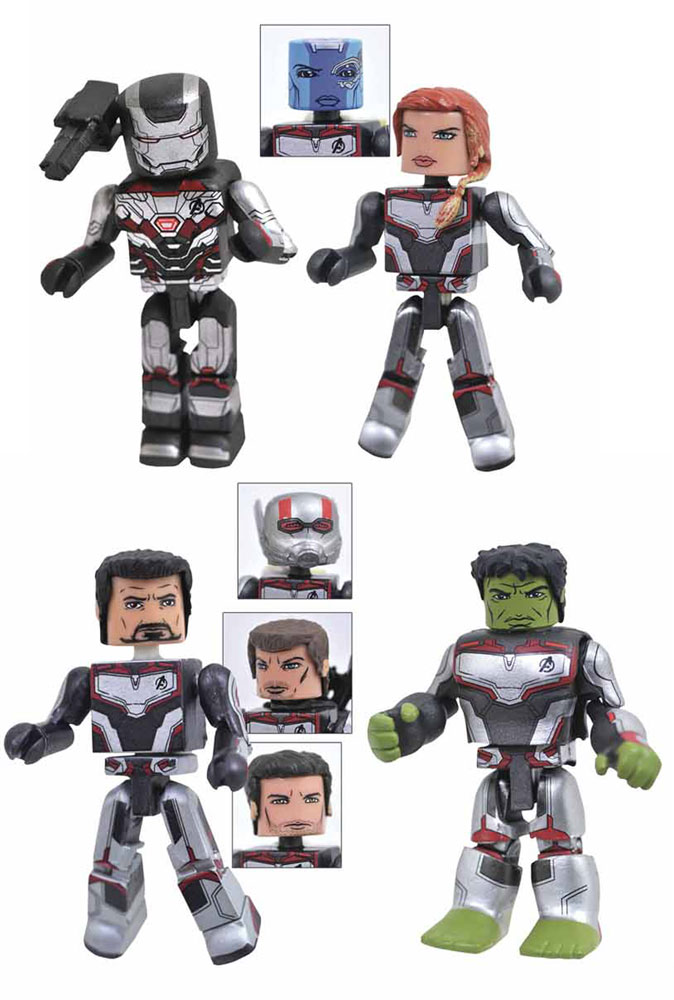 Image: Minimates Box Set: Marvel Avengers 4  -