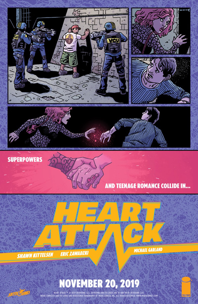 Heart Attack #1  [2019] - Image Comics