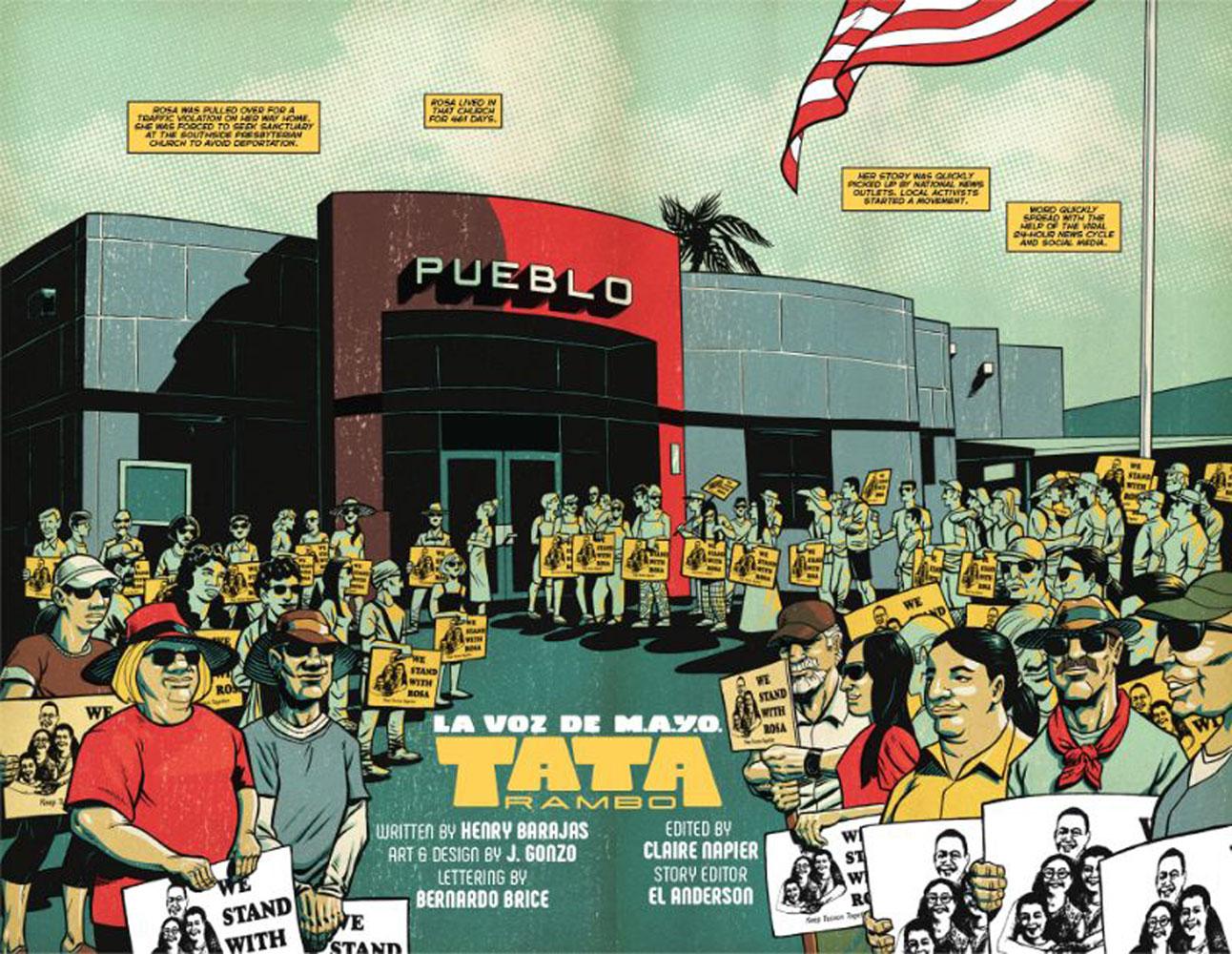 La Voz De M.A.Y.O.: Tata Rambo Vol. 01 SC  - Image Comics