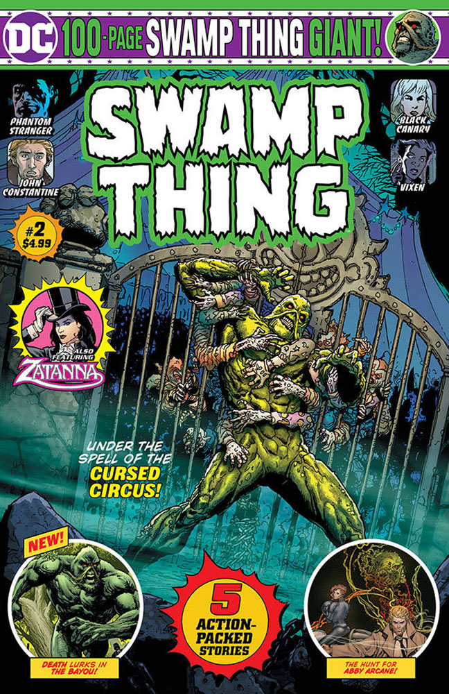 Swamp Thing Giant #2