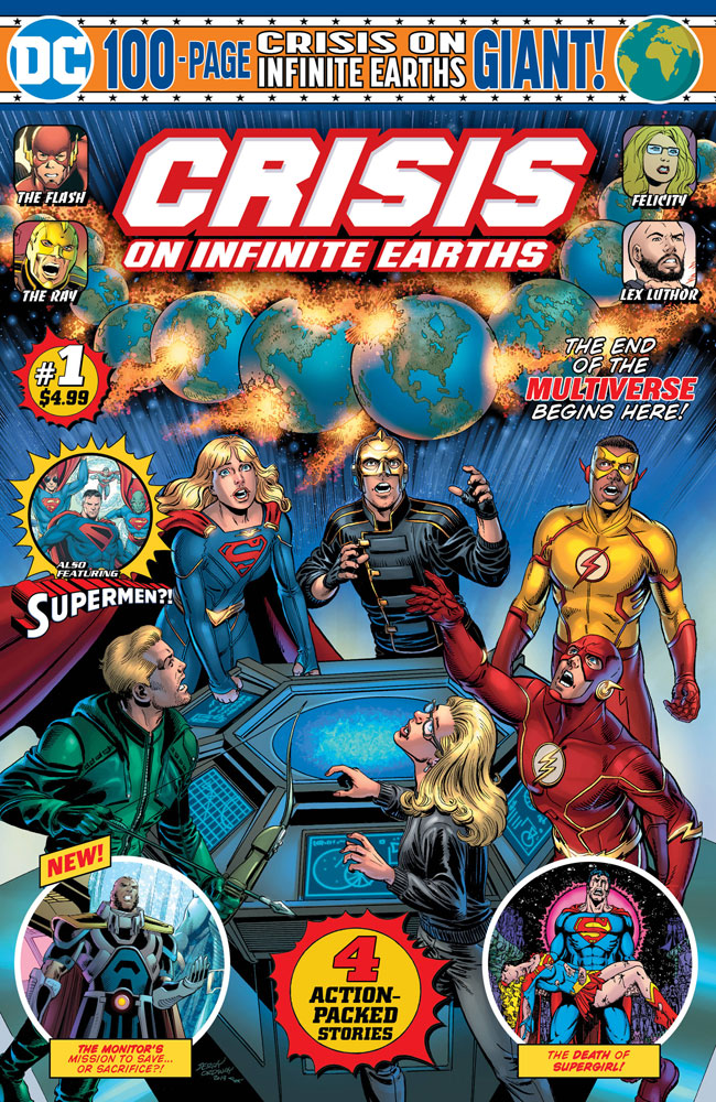 DC Crisis on Infinite Earths Giant #1