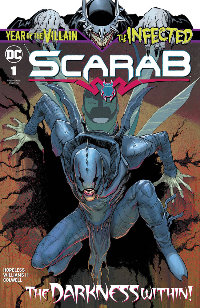 Image: Infected: Scarab #1 - DC Comics