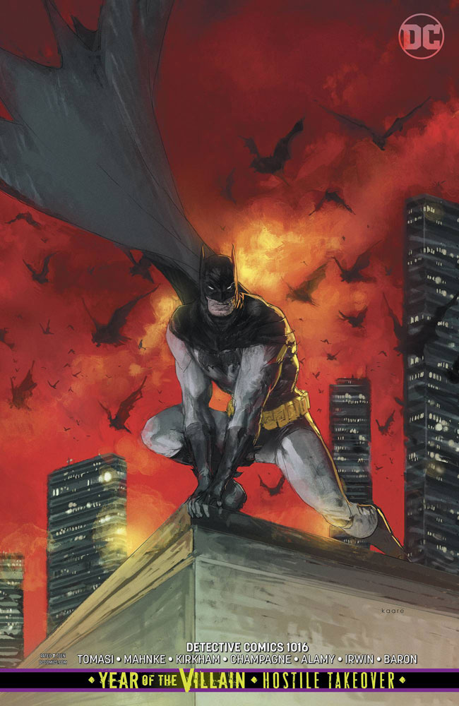 Image: Detective Comics #1016 (variant Card Stock cover - Kaare Andrews) - DC Comics