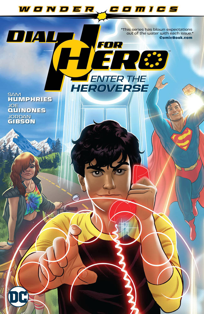 Image: Dial H for Hero Vol. 01: Enter the Heroverse SC  - DC - Black Label