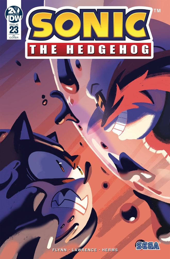 Sonic The Hedgehog 23 Incentive 1 10 Cover Fourdraine Westfield Comics