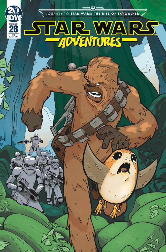 Image: Star Wars Adventures #28 (incentive 1:10 cover - Bracchi)  [2019] - IDW Publishing