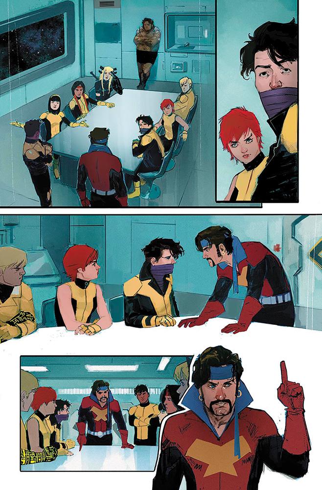 New Mutants #1 (variant Young Guns cover - Garron)  [2019] - Marvel Comics