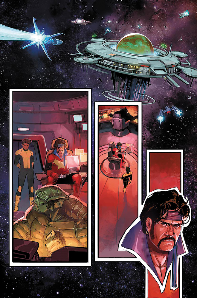 New Mutants #1 (variant cover - Artgerm)  [2019] - Marvel Comics