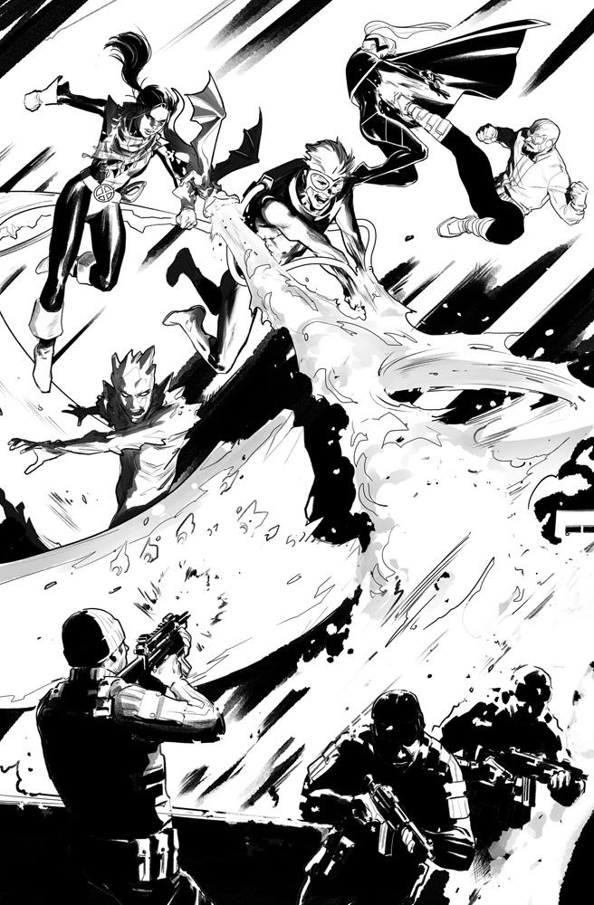 Marauders #2 (DX) (incentive cover - Moore) - Marvel Comics