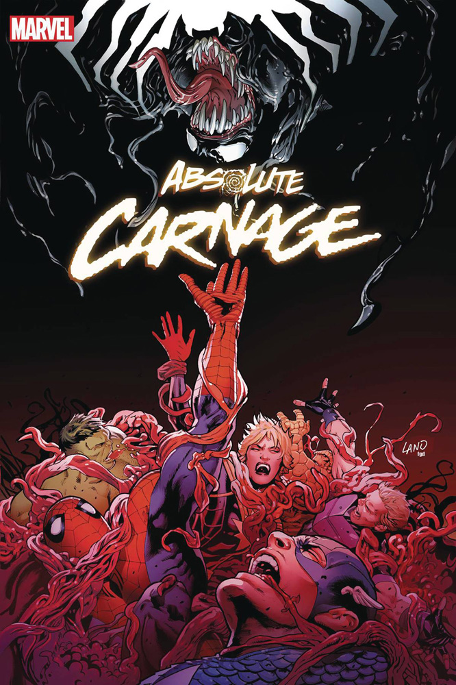 Image: Absolute Carnage #5 (variant cover - Land) - Marvel Comics