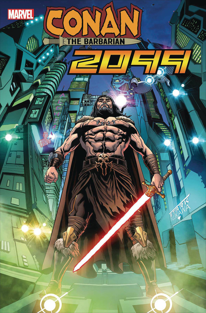 Image: Conan 2099 #1 (incentive cover - Sliney) - Marvel Comics