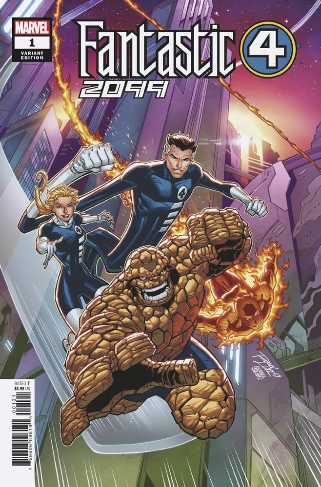 Image: Fantastic Four 2099 #1 (variant cover - Ron Lim) - Marvel Comics