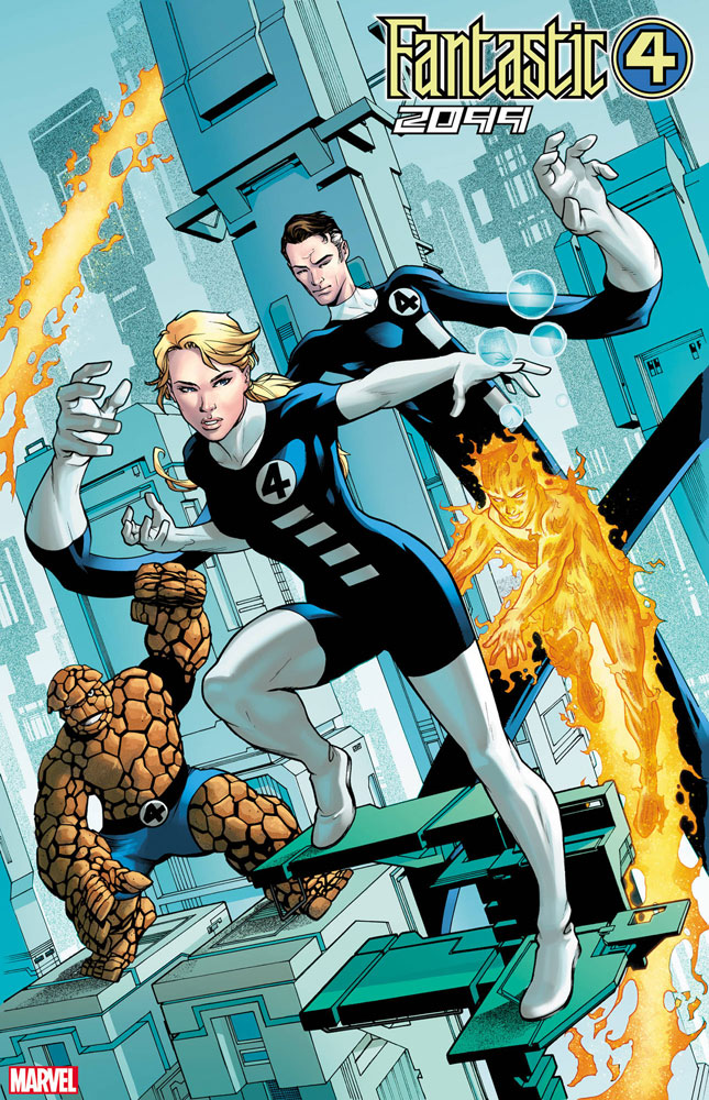 Image: Fantastic Four 2099 #1 (incentive Artist cover) - Marvel Comics