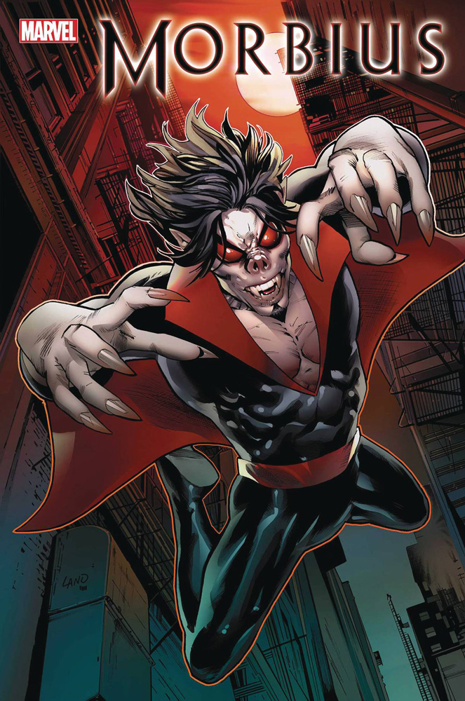 Image: Morbius #1 (incentive cover - Land) - Marvel Comics