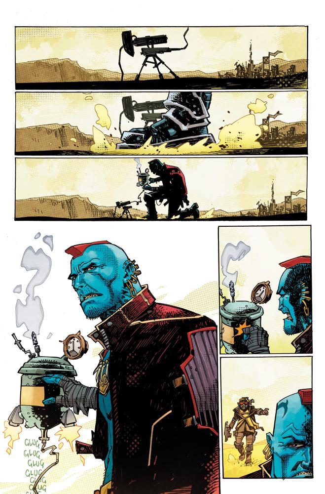 Yondu #1 (incentive Hidden Gem cover - Milgrom) - Marvel Comics