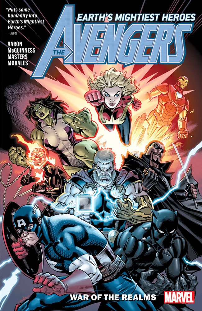 Image: Avengers by Jason Aaron Vol. 04: War of the Realms SC  - Marvel Comics