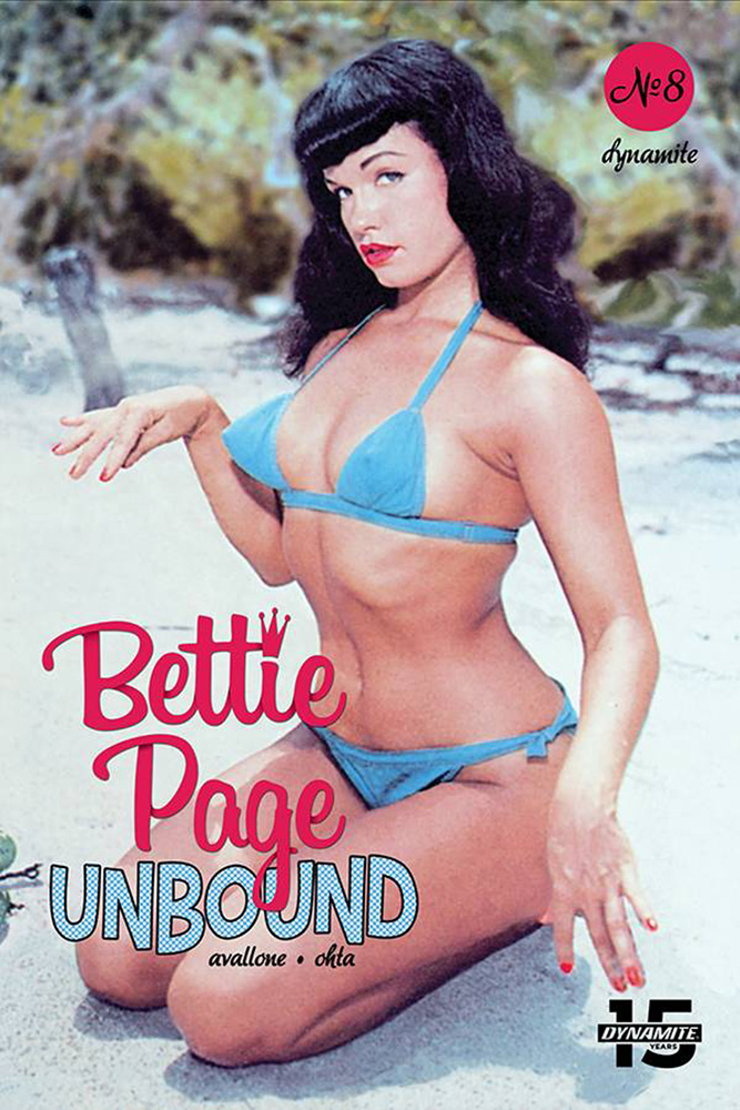 Image: Bettie Page: Unbound Vol. 03 #8 (cover E - Photo)  [2019] - Dynamite