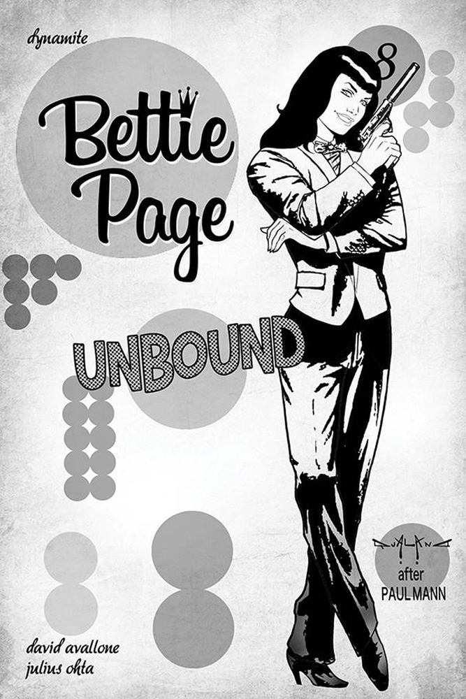 Image: Bettie Page: Unbound Vol. 03 #8 (incentive 1:40 cover - Qualano virgin)  [2019] - Dynamite