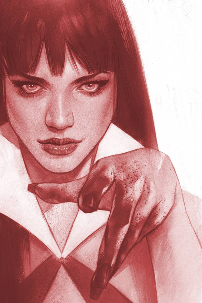 Image: Vengeance of Vampirella Vol. 02 #2 (incentive 1:40 cover - Oliver Tinted virgin)  [2019] - Dynamite