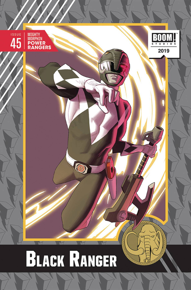 Image: Mighty Morphin Power Rangers #45 (incentive 1:20 cover - Anka) - Boom! Studios