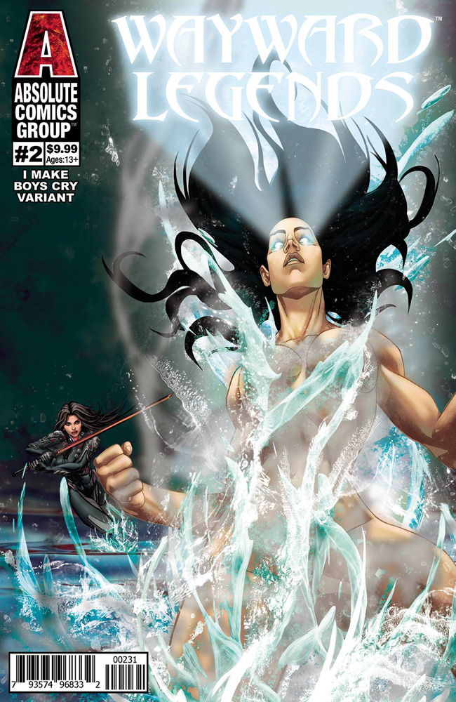 Image: Wayward Legends #2 (cover C - Francisco Make Boys Cry Holo Foil Logo) - Absolute Comics Group