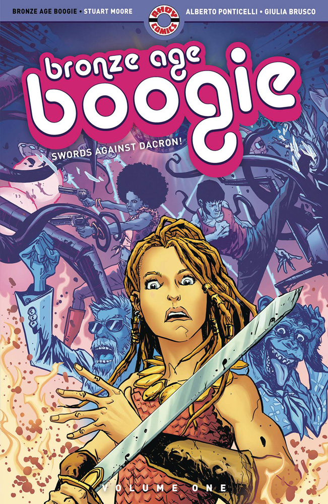 Image: Bronze Age Boogie Vol. 01: Swords Against Dacron! SC  - Ahoy Comics