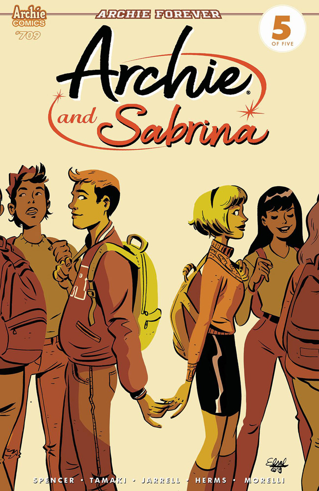 Image: Archie #709 (Archie & Sabrina Part 5) (cover A - Charretier) - Archie Comic Publications