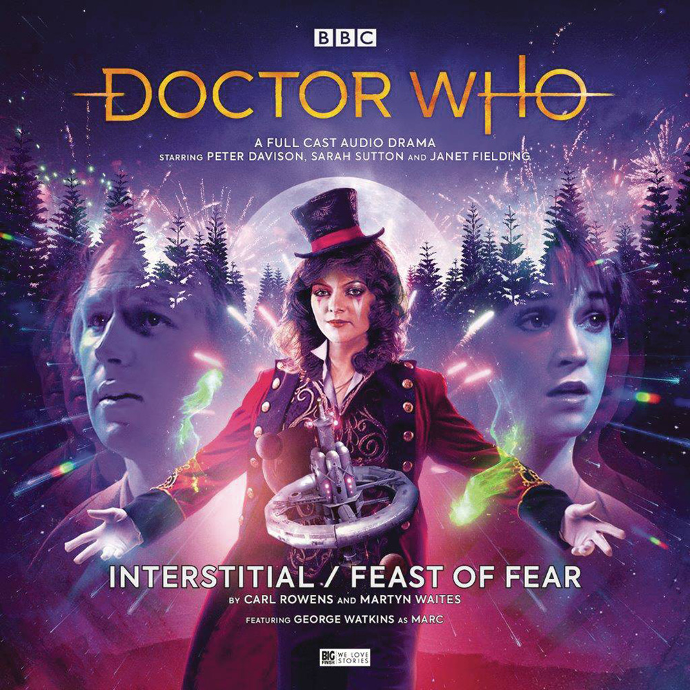 Image: Doctor Who Audio CD: 5th Doctor - Interstitial Feast of Fear  - Big Finish