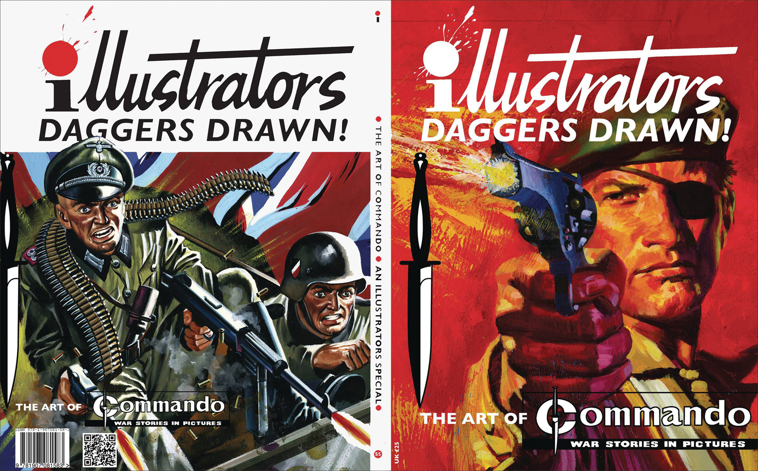 Image: Illustrators Special #5 (Art of Commando Comics) - Book Palace